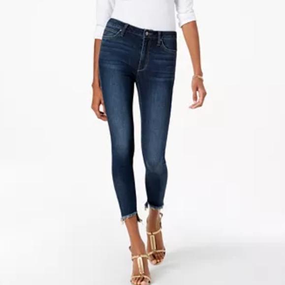 Joe's Jeans high rise Charlie step-hem 25